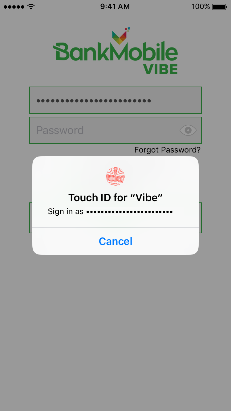 Vibe UP Landing Page