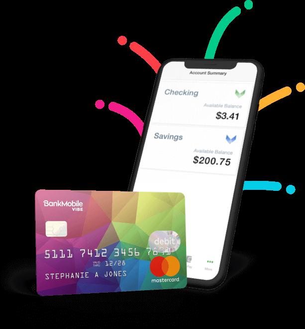bank mobile vibe debit card